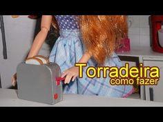 Como fazer uma batedeira para bonecas Barbie e outras - miniatura faça você mesmo - YouTube