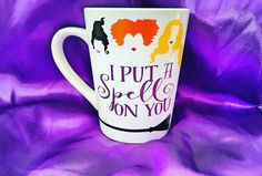 ebee02440fe Items similar to Hocus Pocus Mug - Hocus Pocus Cup - Hocus pocus coffee mug  - Hocus Pocus - Sanderson Sisters - Halloween mug - Halloween coffee mug on  Etsy