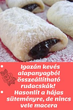 Hungarian Cuisine, Hungarian Recipes, Smoothie Fruit, Cake Recipes, Dessert Recipes, Tea Cookies, Cookie Desserts, Hot Dog Buns, Breakfast Recipes