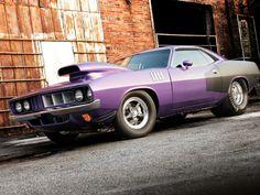 1971 Plymouth Barracuda.