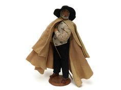 French Santon Shepherd Doll. Folk Art Male by LeBonheurDuJour