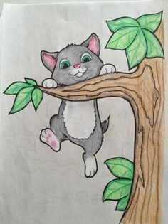 This reminds me of my childhood drawings. Oil Pastel Drawings, Pencil Art Drawings, Art Drawings Sketches, Colorful Drawings, 3d Art Drawing, Art Drawings For Kids, Easy Drawings, Kids Art Class, Indian Art Paintings