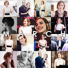 In March 2016 Emma; ━ attended HeForShe Arts Week Inaugural Launch ━ lit up the Empire State Building in NYC for IWD ━ interviewed Lin-Manuel Miranda ━ gave an interview to HitRecord about the impact of technology on democracy ━ attended Adele's concert in London ━ announced Our Shared Shelf's March book ━ promoted Esquire UK April issue ━ met with Geri Horner to talk about feminism @EmmaWatson #EmmaWatson