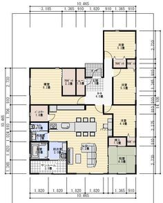 Japanese Architecture, Dream House Plans, House Layouts, Floor Plans, Flooring, How To Plan, House Floor Plans, Wood Flooring, Floor Plan Drawing