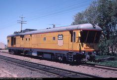UP DC4 Description: Photo Date: 6/7/1981 Location: North Platte, NE Author: C.W. Lahickey Categories: Roster Locomotives: UP DC-4(MoW Equipment)