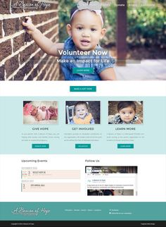 Wordpress Help, Beacon Of Hope, Portfolio Web Design