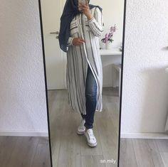 Liquette noir et blond .. Style hidjab