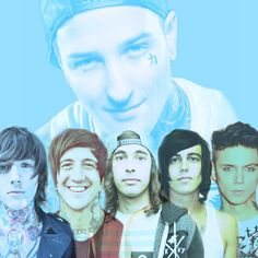Mitch Lucker and Oliver Sykes, Austin Carlile, Vic Fuentes, Kellin Quinn and Andy Biersack