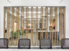 Aquent Offices - New York City - 4 Room Partition Wall, Living Room Partition Design, Room Partition Designs, Sisal, Frame Wall Decor, Frames On Wall, Key Design, Wall Design, Moon Projects