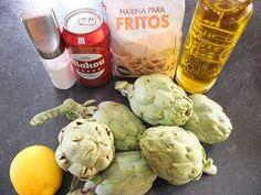 Cocinando con Lola García: Alcachofas crujientes
