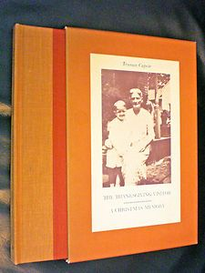 The Thanksgiving Visitor A Christmas Memory by Truman Capote make time to read this year!