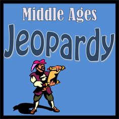 Middle Ages, History, Social Studies, Middle School, Jeopardy, Games, PowerPoint