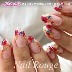 Hot Nail Designs, Nail Designs Spring, Nail Art Videos, Nail Art Brushes, Nail Patterns, Flower Nail Art, Nail Studio, Hot Nails, Spring Nails