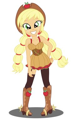 Apple jack - new style by sumin6301 on DeviantArt