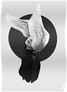 The Swan Fotodruck von Laura-Rubin Art Sketches, Art Drawings, Modelos 3d, Canvas Prints, Art Prints, Arte Pop, Fantasy Illustration, Surreal Art, Aesthetic Art