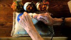 Needle Felted Pumpkin Tutorial 1: The Body by Sarafina Fiber Art