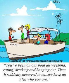 Boat Humor on Pinterest