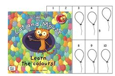 Cat and Mouse, Learn the Colours, cycle 2 - Brown Bear & Co, L'anglais avec le Storytelling Cat Mouse, Brown Bear, 9 And 10, Storytelling, Colours, Learning, Cats, English People, Language
