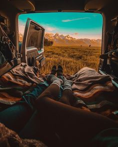Are you looking to take a camping trip in the near future? Whether you are looking to take a camping trip as a family vacation or a romantic getaway, you may be concerned with . Van Life, Road Trip, Camping Aesthetic, Adventure Aesthetic, Van Living, Camping Spots, Jeep Camping, Camping Theme, Camper Life