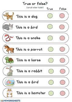 English Activities For Kids, English Grammar For Kids, English Worksheets For Kindergarten, Learning English For Kids, English Lessons For Kids, Kids English, English Language Learning, English Vocabulary, Learn English