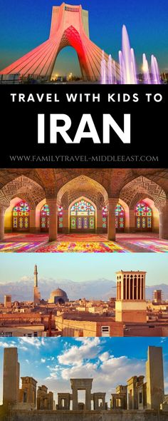 middle east destinations Iran with Kids - Things to know before planning a family trip to Iran An introductory guide to visiting Iran. Local laws and customs, up to date trvael advisories and famous sites of Iran Best Vacations With Kids, Travel With Kids, Family Travel, Family Vacations, Middle East Destinations, Travel Destinations, Kids In The Middle, Visit Iran, Jordan Travel