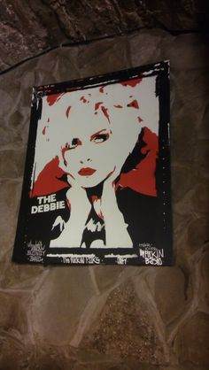 Debbie Harry Blondie Stencil Graffiti Art PopArt MAKE KOKS