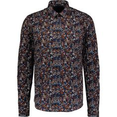 Blue & Burnt Orange Floral Print Shirt Floral Print Shirt, Floral Prints, Tk Maxx, Burnt Orange, Shirt Outfit, Printed Shirts, Burns, Casual Shirts, Long Sleeve Shirts
