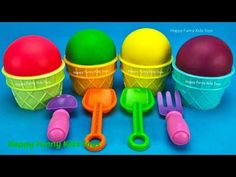 Play Doh Ice Cream Cups Surprise Toys Kinder Egg Disney Princess Chupa Chups Yowie Rumble Animal Jam - YouTube Play Doh Ice Cream, Cream Cups, Animal Jam, Funny Kids, Kids Toys, Egg, Disney Princess, Youtube, Party