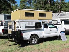 Four Wheel Campers has been producing slide-in pop-up campers for pickups since 1972. They were producing overland campers before the term even existed, and four of the five Turtle Expedition vehicles used them. This model runs about $18,000 and is light enough (about 950 pounds) to work on midsize pickups like this Tacoma. The unit even comes with an indoor shower.