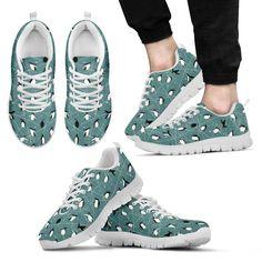 Penguin Pattern Sneakers
