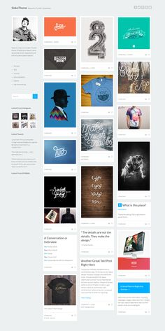 Sisko - A Clean Responsive Blog Tumblr Theme. Live Preview & Download: http://themeforest.net/item/sisko-a-clean-responsive-tumblr-theme/6926144?ref=ksioks