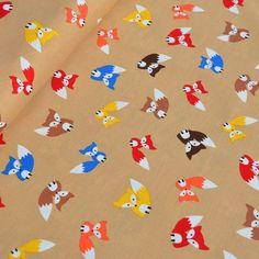 Wovens - Page 1 - l'oiseau fabrics Dressmaking Fabric, Fabric Animals, Poplin, Snoopy, Textiles, Kids Rugs, Fancy, Sewing, Prints
