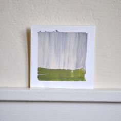 small painting, abstract, daily painting project