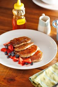The Chubby Vegetarian: Power Pancakes (Paleo and Gluten Free)