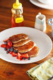 The Chubby Vegetarian: Power Pancakes (Paleo and Gluten Free)