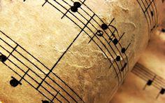Musiikki... nuotit...