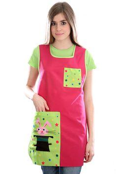 batita rosa y verde