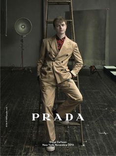 AD CAMPAIGN: PRADA MEN'S SPRING/SUMMER 2014 BY ANNIE LEIBOVITZ | The Poor Homme