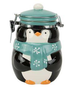 Take a look at this Polar Penguin Hinged Jar today!