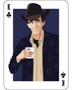 Sheriff Harry S. Truman is the King of Clubs.