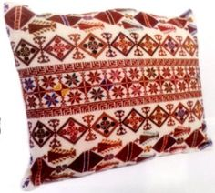 Palestinian embroidery cross stitch pillow . Size: approx 36 * 47cm. Price $69 each