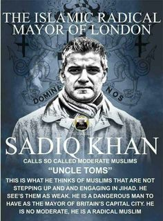 Another goat rape idiot.elected by libs. Political Beliefs, Politics, Sadiq Khan, My Fellow Americans, Scum Of The Earth, Ban Islam, Praying For Our Country, Mayor Of London, Enemy Of The State