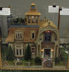 miniature doll house designs | ... Claire Bergstrom at the Fall 2012 Seattle Dollhouse Miniature Show