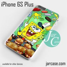 Spongebob Craby Patty Phone case for iPhone 6S Plus and other iPhone devices