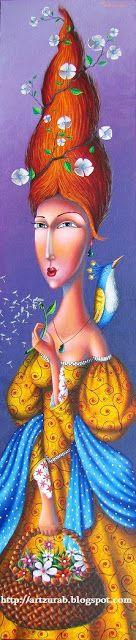 "Artist Zurab Martiashvili: 2013,  ""Spring"""