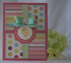 Find lots of cute and creative handmade Easter card ideas. Try making these homemade Easter cards using stamps, punches and fun embellishments. Envelopes, Holiday Cards, Christmas Cards, Diy Ostern, Creation Deco, Baby Kind, Card Making Inspiration, Greeting Cards Handmade, Handmade Easter Cards