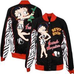 Betty Boop Women's Fierce Jacket: $91.88 - $120.00