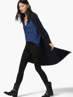 PANTALÓN RASO - Pantalones - NUEVA TEMPORADA - WOMEN - España Massimo Dutti