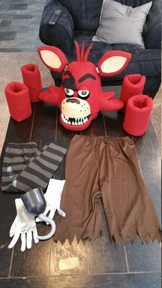 Items similar to Foxy the Pirate Costume Mask Five Nights at Freddy's on Etsy