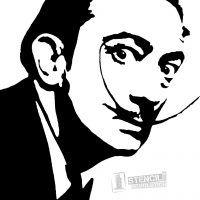 Salvador Dali Stencil